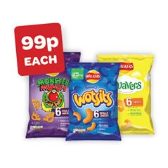 Monster Munch / Wotsits / Quavers