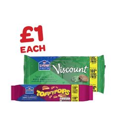 Lyons Viscount / Toffypops 100% Extra Free