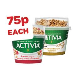 Activia Toppers Yogurt