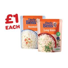 Uncle Bens Express Rice