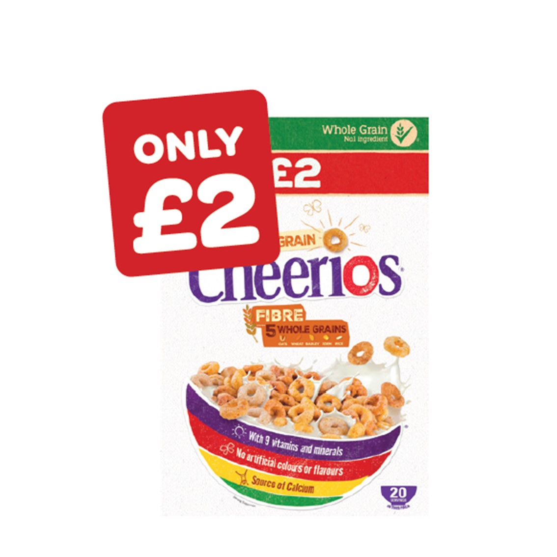 Nestle Cheerios Price Marked Pack