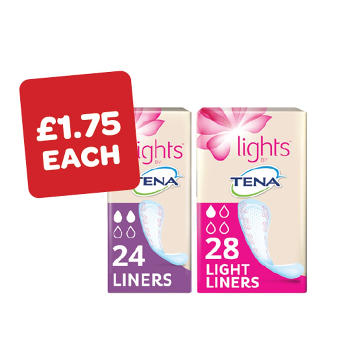 Tena Light Liners