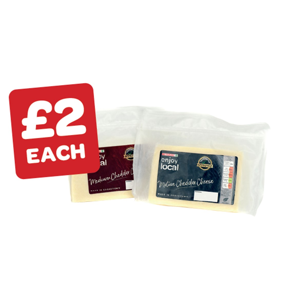 SPAR enjoy local Medium / Mature Cheddar Cheese