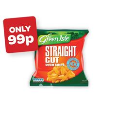 Green Isle Straight Cut Oven Chips
