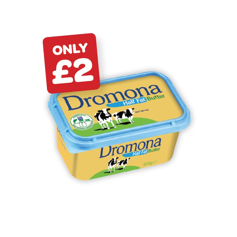 Dromona Half Fat Butter