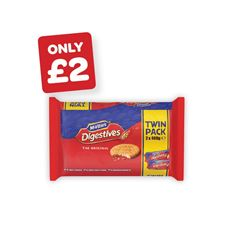 McVitie's Digestives Twin Pack