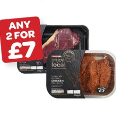 SPAR enjoy local Peppered / Honey & Chilli Mini Fillets / Sirloin Steak with Peppercorn Butter