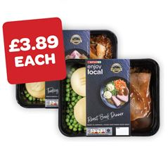 SPAR enjoy local Roast Beef / Roast Chicken / Roast Turkey / Pulled Beef Dinner