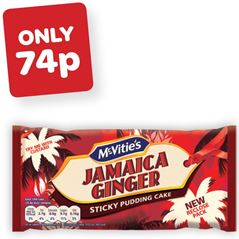 McVities Jamaica Ginger Bar Cake