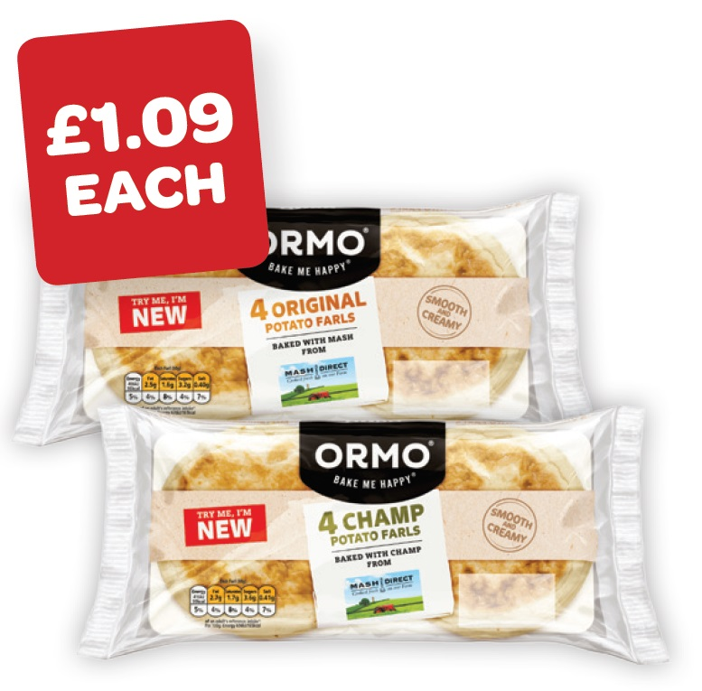 Ormo Fresh Mashed / Champ Potato Bread