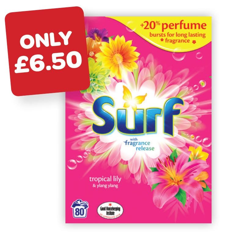 Surf Powder Tropical 80 Wash