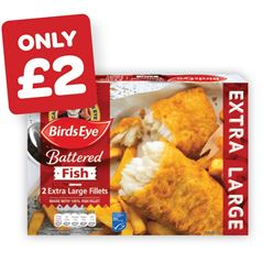 Birds Eye Simply Fish in Batter