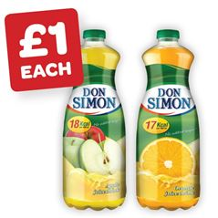 Don Simon No Added Sugar Orange / Apple