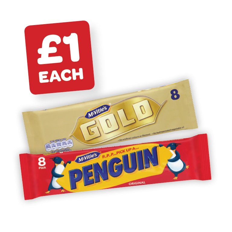 McVitie's Gold Bars / Penguin