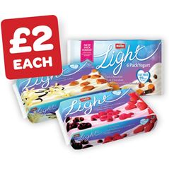 Muller Light Red Fruits / Chocolate / Toffee & Vanilla / Limited Edition 175g