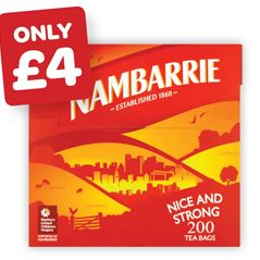 Nambarrie Teabags
