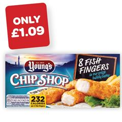 Youngs Battered Fish Fingers