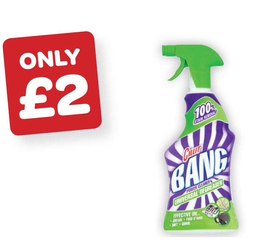 Cillit Bang Grease & Sparkle / Lime & Shine