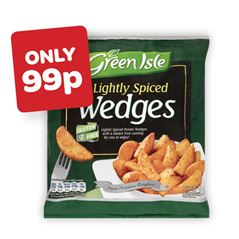 Green Isle Lightly Spiced Wedges