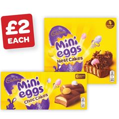 Cadburys Mini Eggs Cakes