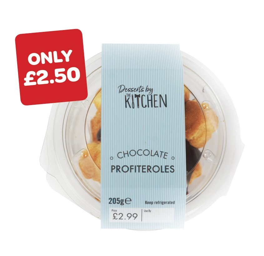 The Kitchen Profiteroles