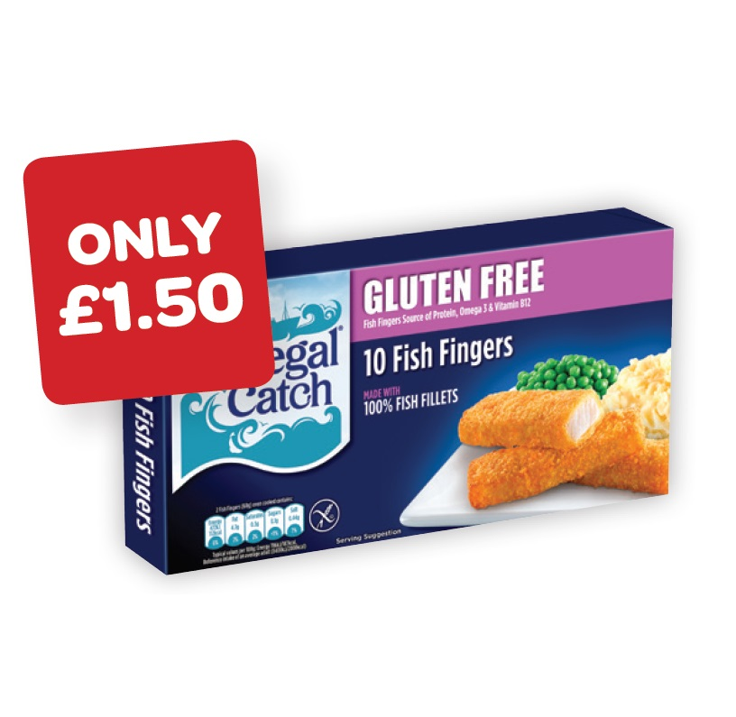 Donegal Catch Fish Fingers Gluten Free