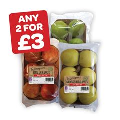 The Greengrocer's Royal Gala / Golden Delicious / Granny Smith Apples