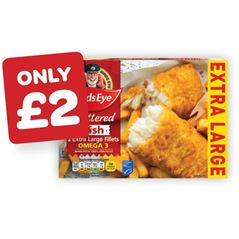 Birds Eye XL Battered Fish Fillets
