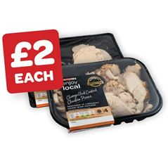 SPAR enjoy local Cooked / Chargrilled Chicken Pieces / Cooked Chicken Slices