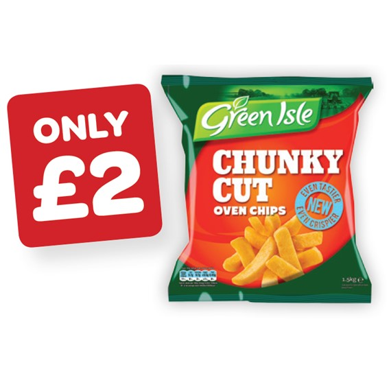Green Isle Chunky Chips
