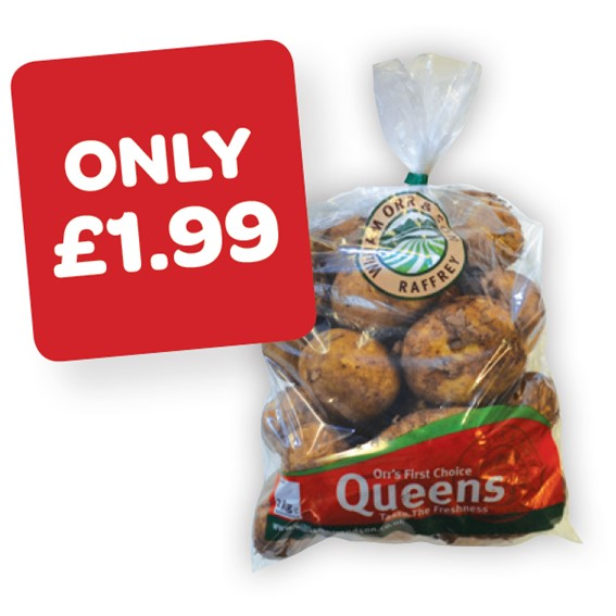 Orr's Queens Potatoes