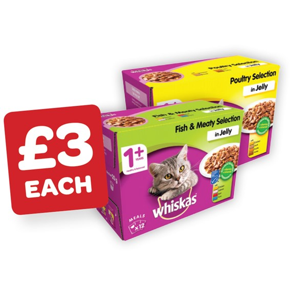 Whiskas Cat Food 100g