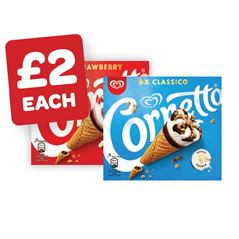 Cornetto Classic / Strawberry