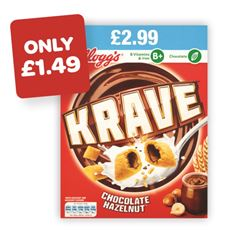Kellogg's Krave Price Marked Pack