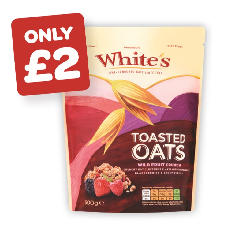 White's Toasted Oats