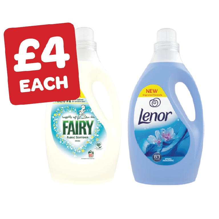 Lenor / Fairy Fabric Conditioner