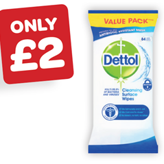 Dettol Anti Bacterial Wipes