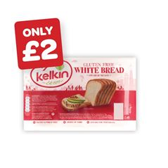 Kelkin White / Brown / Multiseed Bread