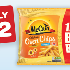 Mc Cain Oven Chips Crinkle Cut
