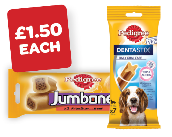 Pedigree Dentastix/Jumbone Med
