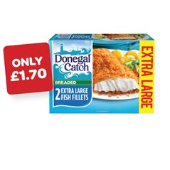 Donegal Catch XL Breaded / Battered Fish Fillets