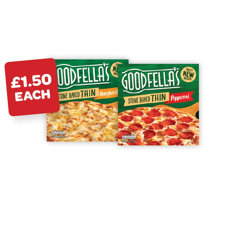 Goodfellas Thin & Crispy Pizza
