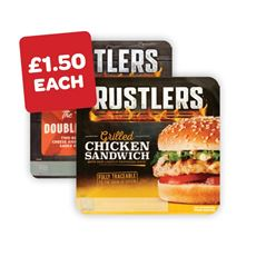 Rustler's Chicken Sandwich / Double Decker