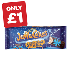 McVities Jaffa Yule Logs
