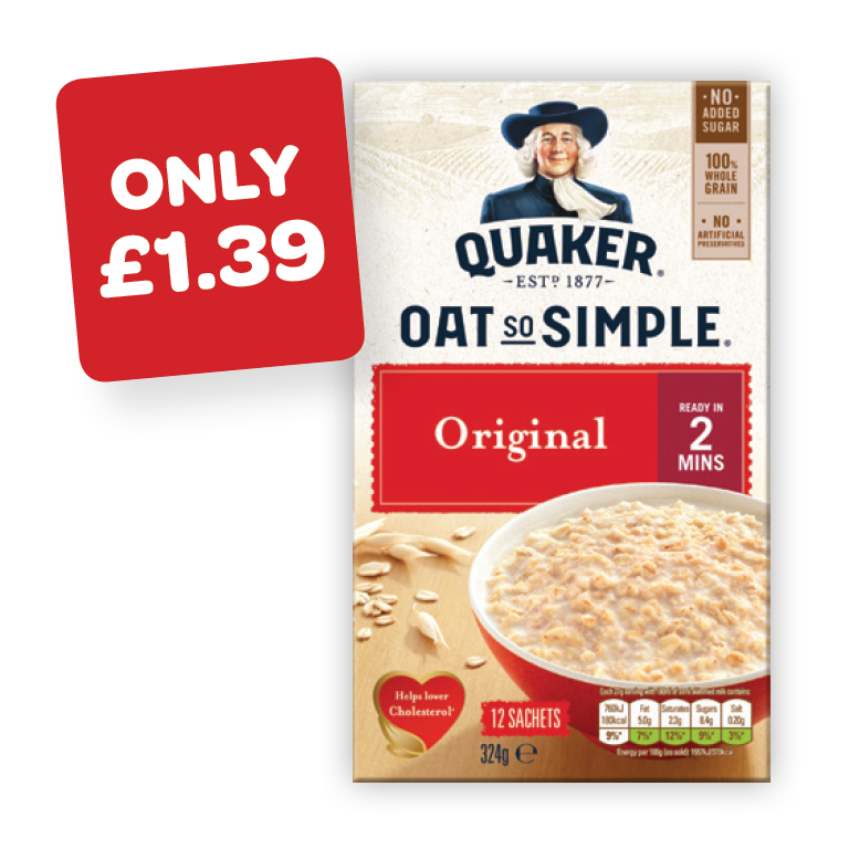 Quaker Oatso Simple / Protein / Heaps Of Fruit