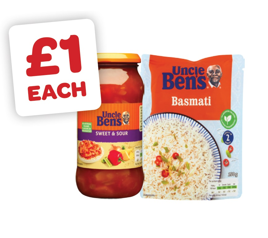 Uncle Bens Express Rice / Uncle Bens Sauce