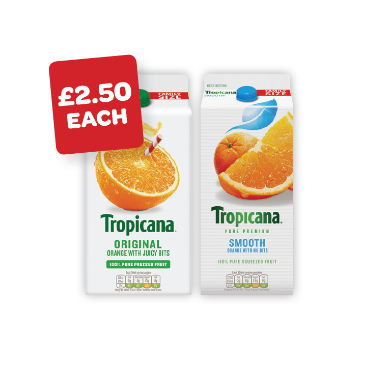 Tropicana Original / Smooth Orange