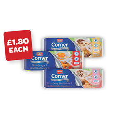 Muller Corner Fruit / Crunch / Biscuit / Favourites 130/143g