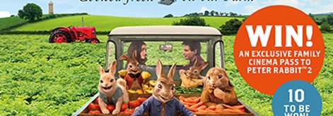 WIN an exclusive Family Cinema Pass to Peter Rabbit 2