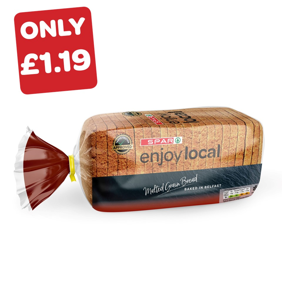 SPAR enjoy local Malted Grain Pan